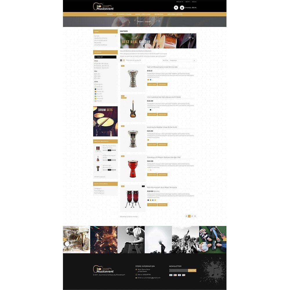 theme - Kunst & Cultuur - Music Store - 4