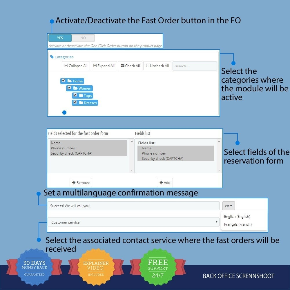 module - Processo de pedido - Fast Order on Product Page - 1