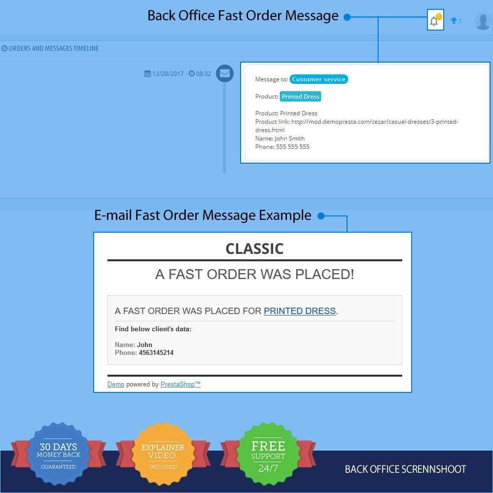 module - Bestelproces - Fast Order on Product Page PRO - 3