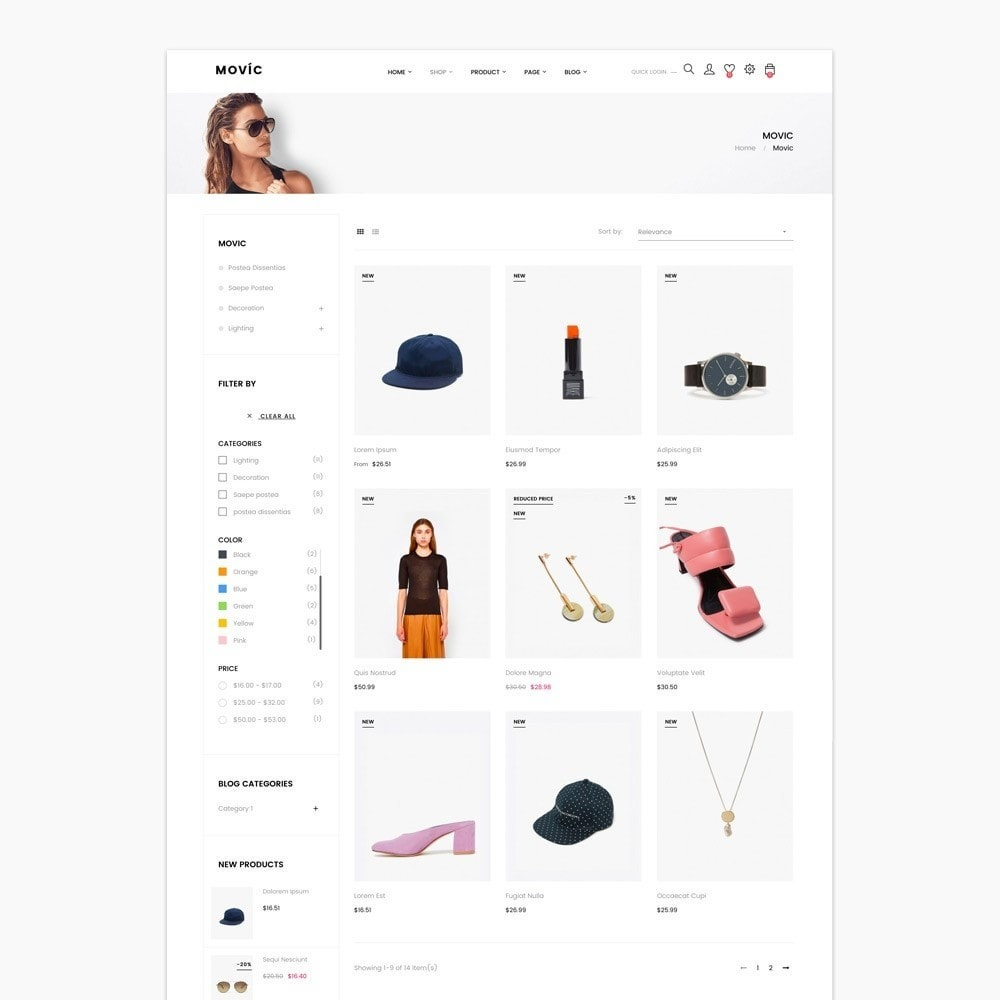 theme - Moda & Calçados - Movic Fashion Store - Prestashop 1.7 - 7
