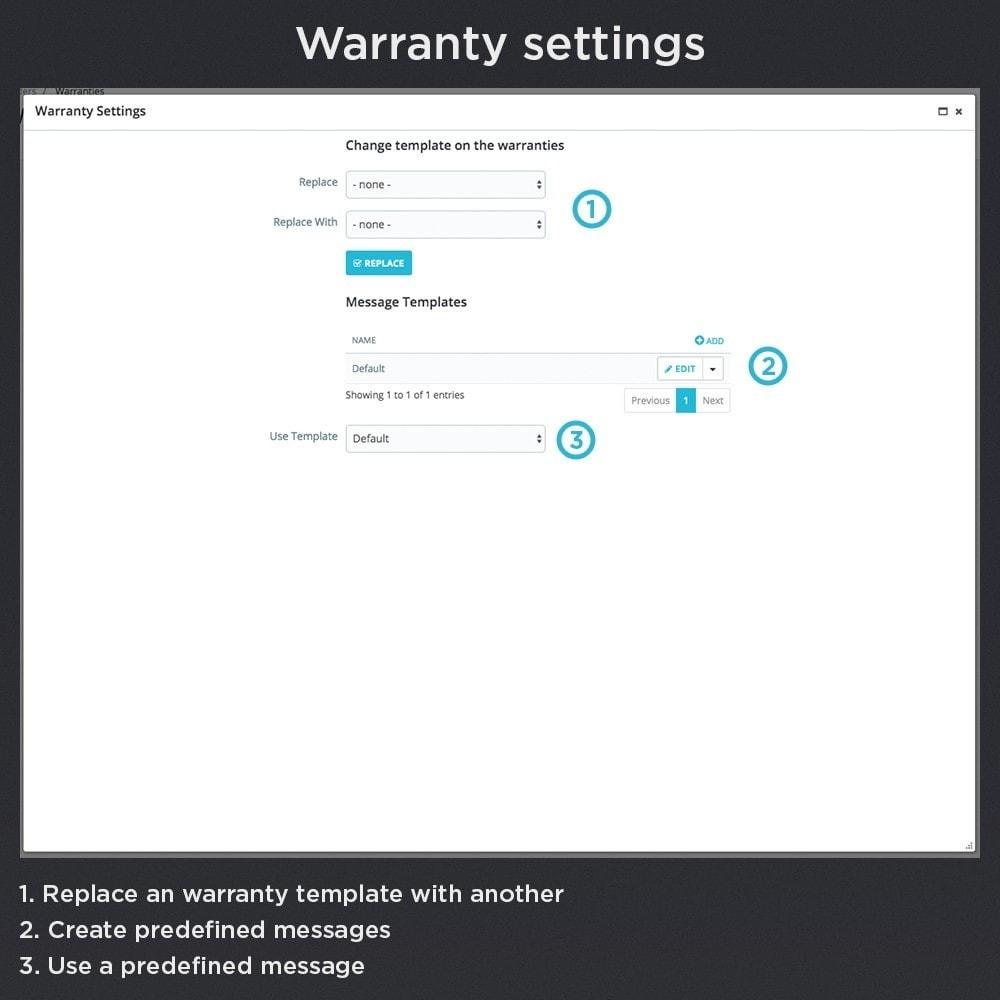 module - Gerenciamento de pedidos - Product Warranty Pro - 15