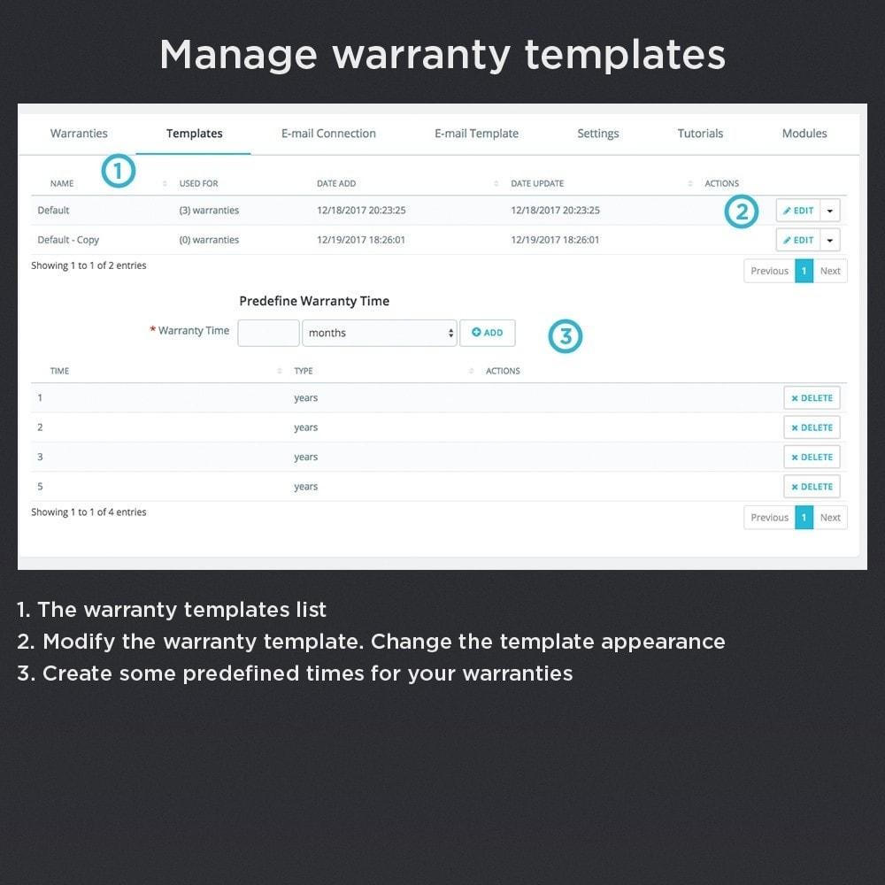 module - Gerenciamento de pedidos - Product Warranty Pro - 17