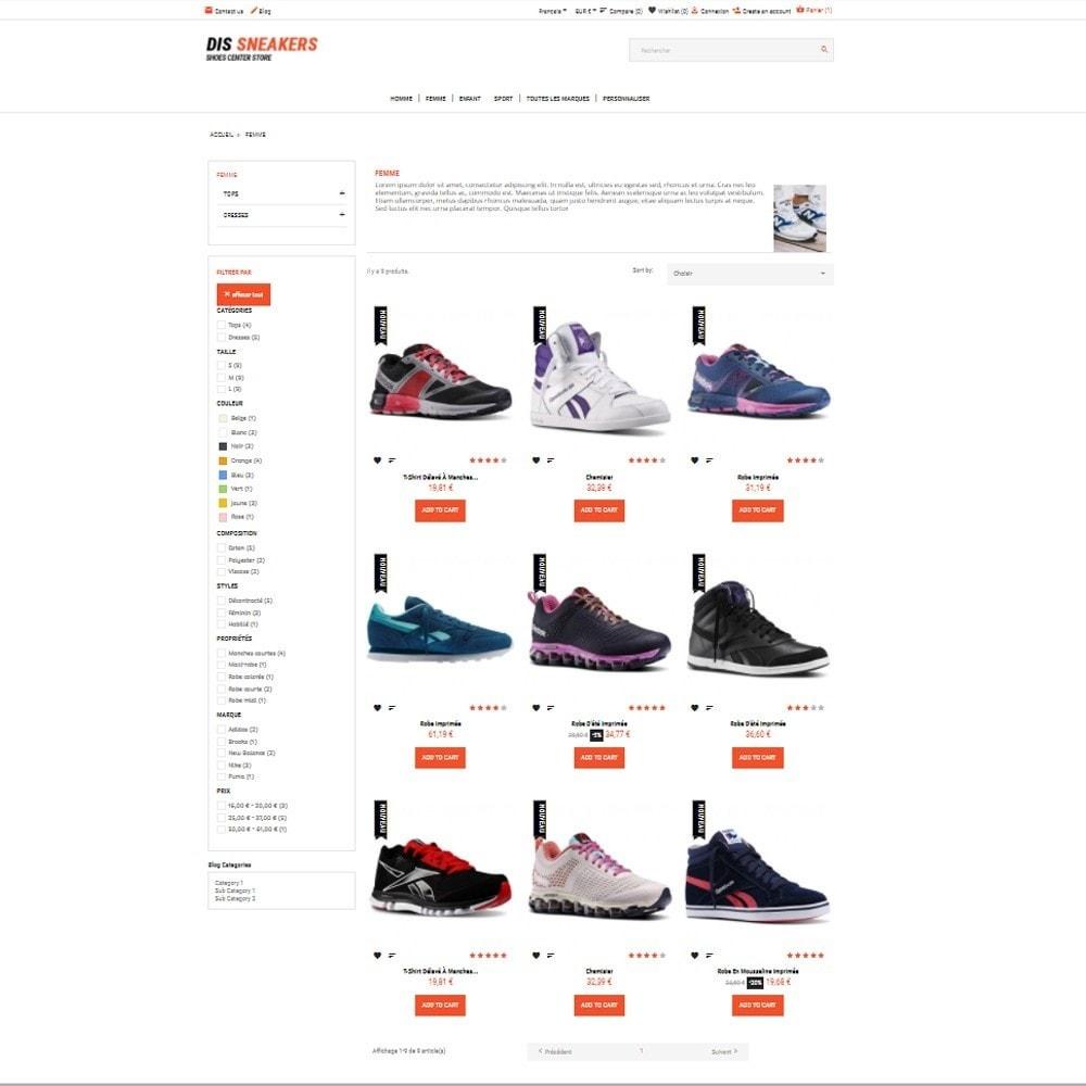 theme - Mode & Schoenen - Thème Dis Sneakers Store - 3