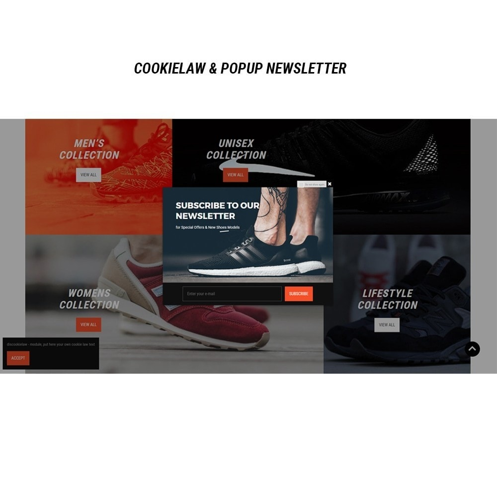 theme - Mode & Chaussures - Thème Dis Sneakers Store - 8