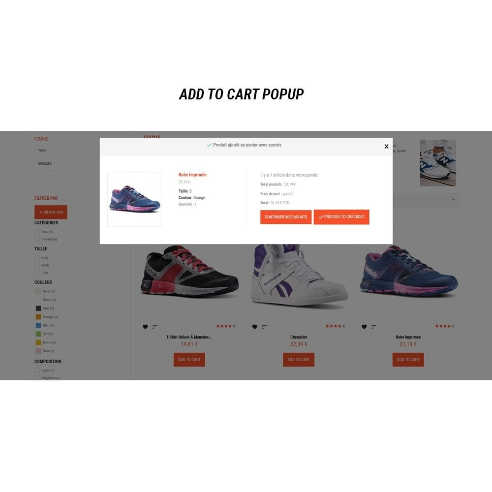 theme - Mode & Chaussures - Thème Dis Sneakers Store - 12