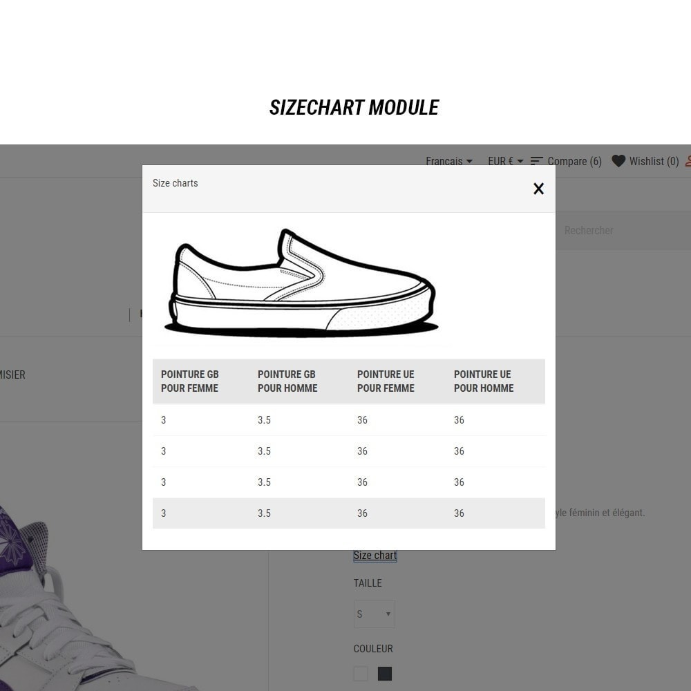 theme - Mode & Chaussures - Thème Dis Sneakers Store - 15