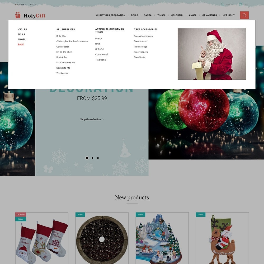 theme - Geschenke, Blumen & Feiern - HolyGift - 4