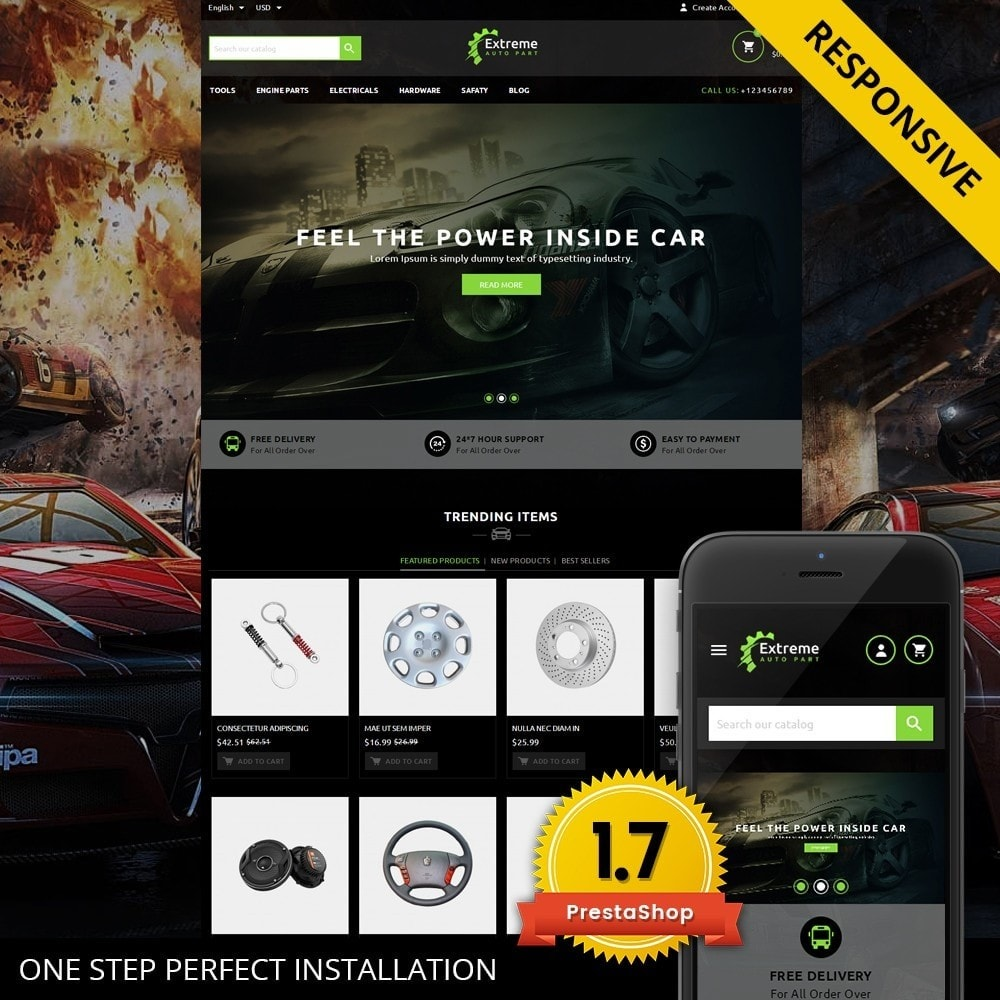 theme - Automotive & Cars - Extreme - Automobiles Store - 1