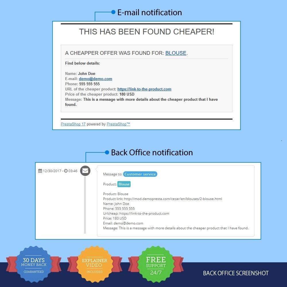 module - Formulaires de Contact & Sondages - I Found It Cheaper - 3