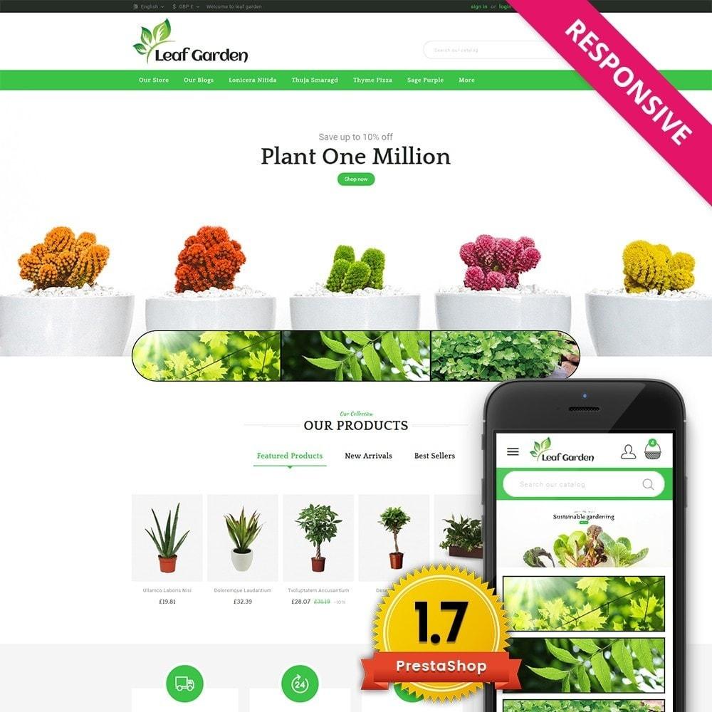 theme - Heim & Garten - Leaf Garden Store - 1