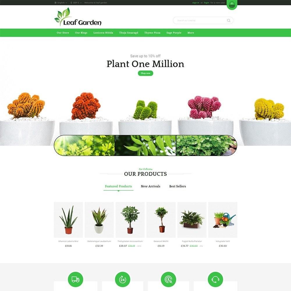theme - Dom & Ogród - Leaf Garden Store - 2