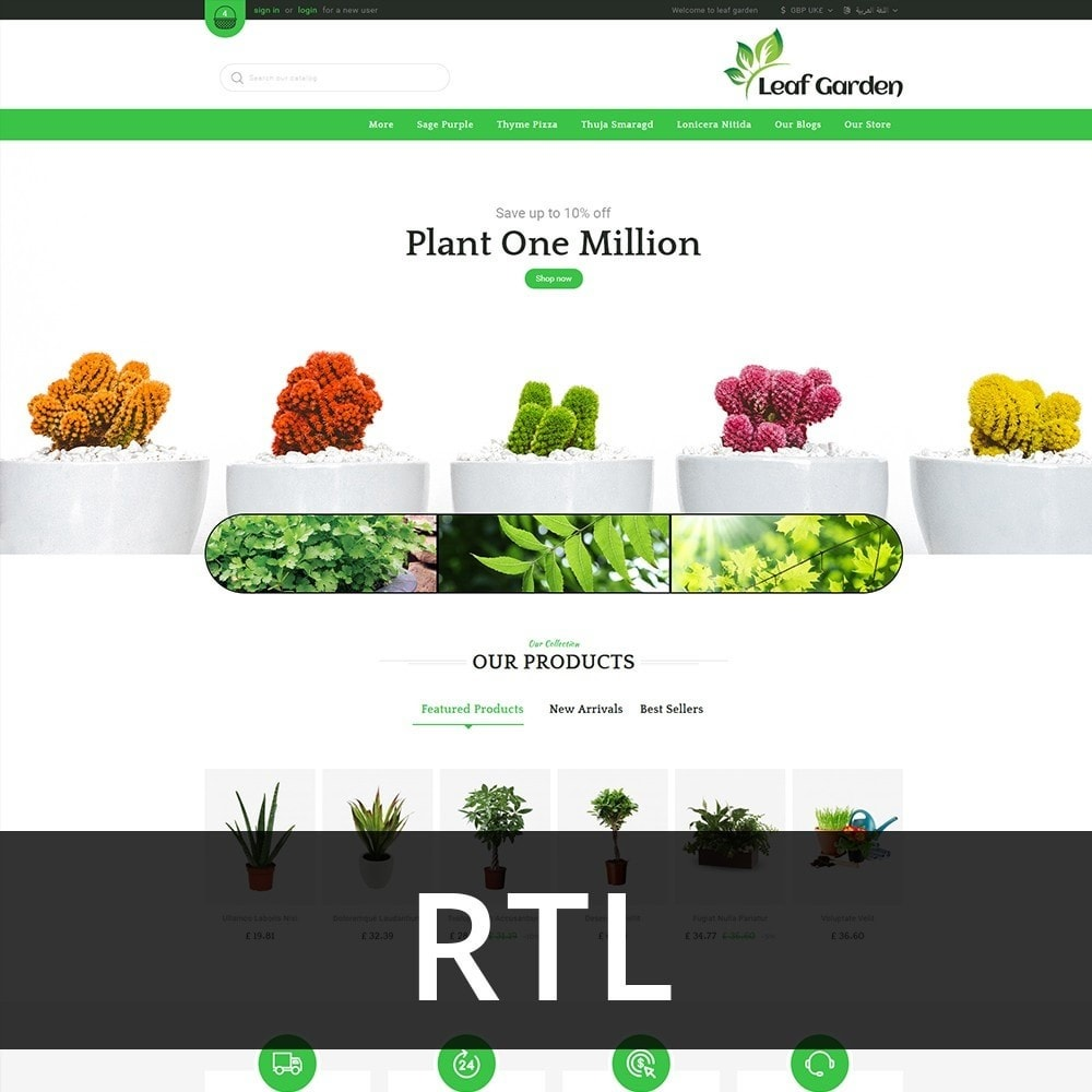 theme - Dom & Ogród - Leaf Garden Store - 3