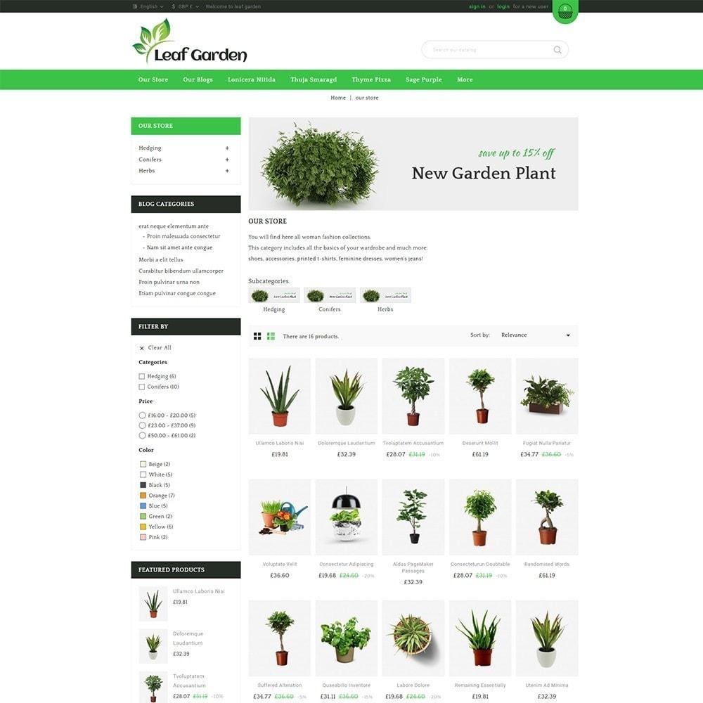 theme - Heim & Garten - Leaf Garden Store - 4
