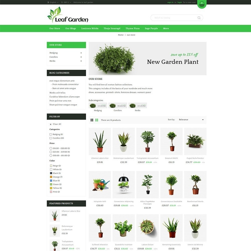 theme - Dom & Ogród - Leaf Garden Store - 4