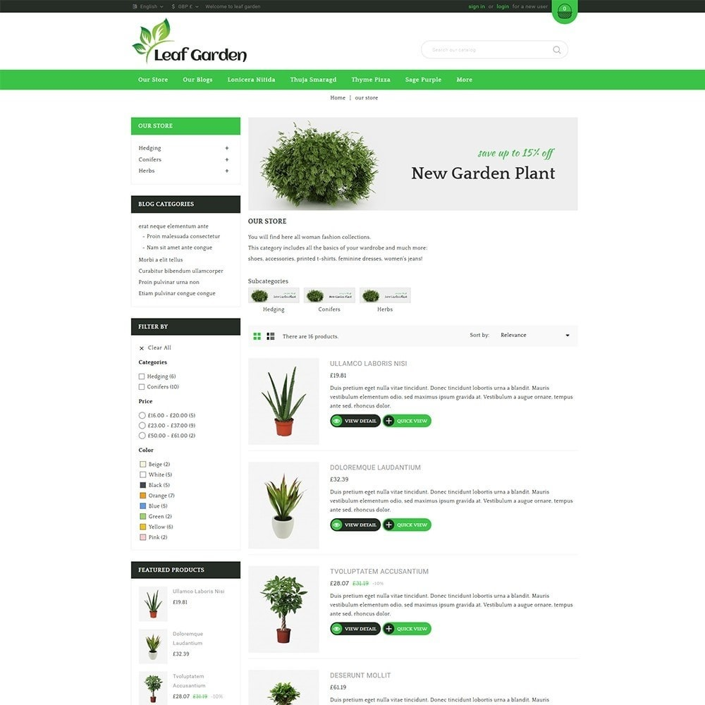 theme - Dom & Ogród - Leaf Garden Store - 5
