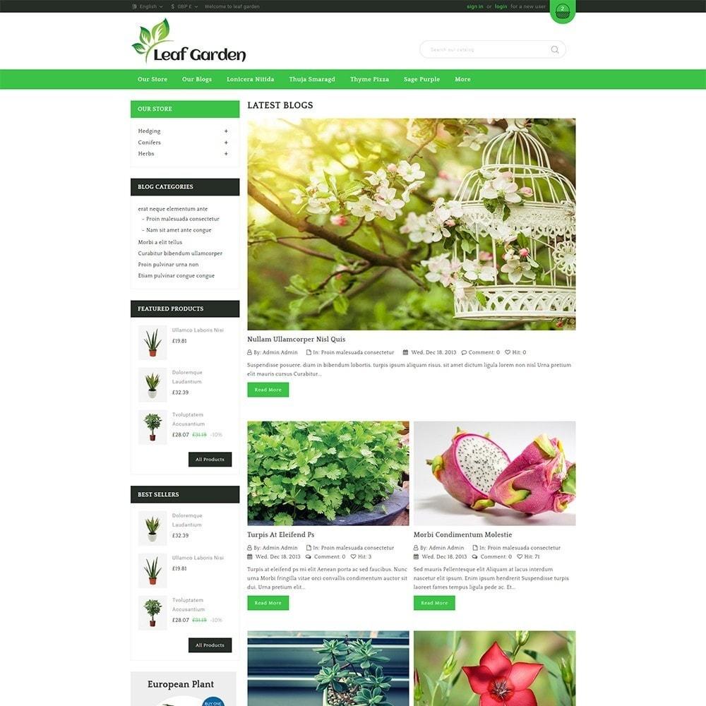 theme - Дом и сад - Leaf Garden Store - 7