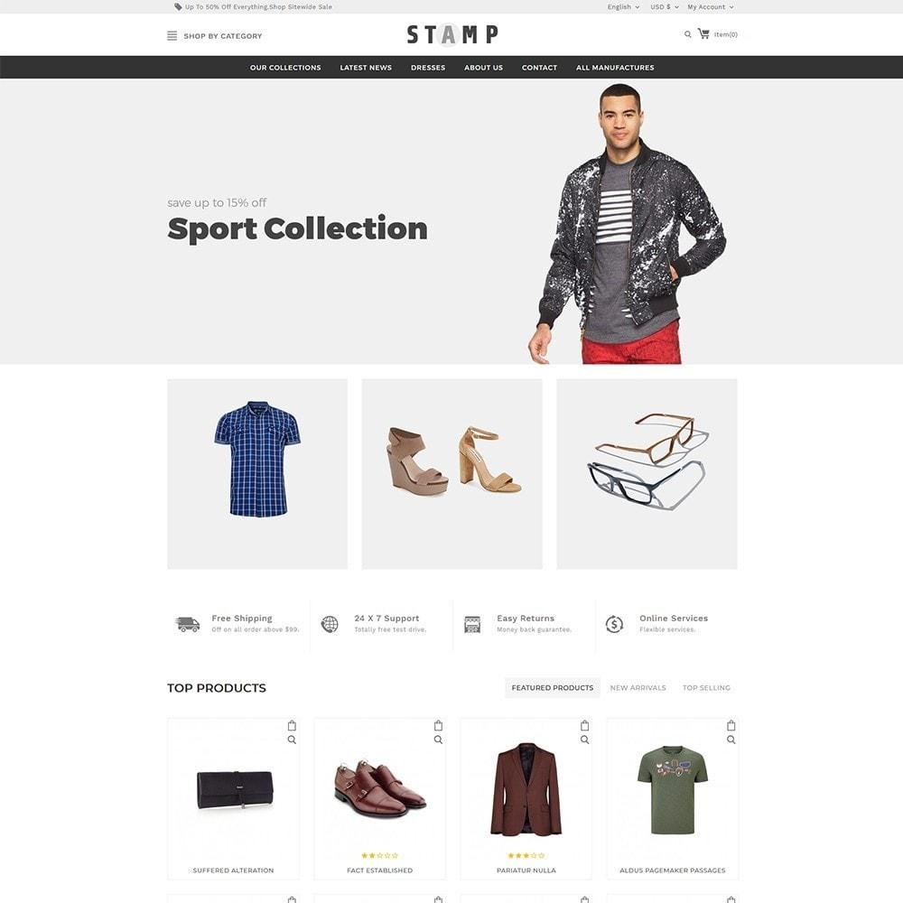 theme - Moda & Calçados - Stamp Fashion Store - 2