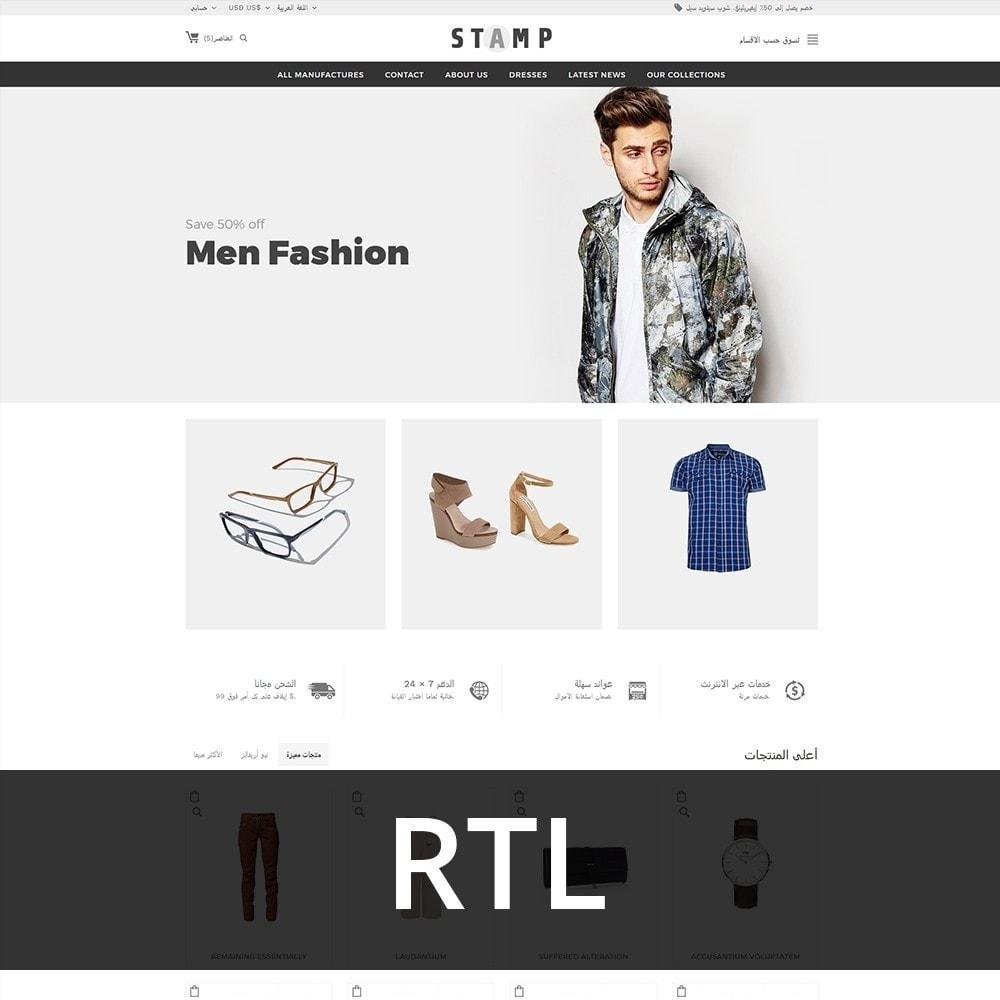 theme - Moda & Calçados - Stamp Fashion Store - 3