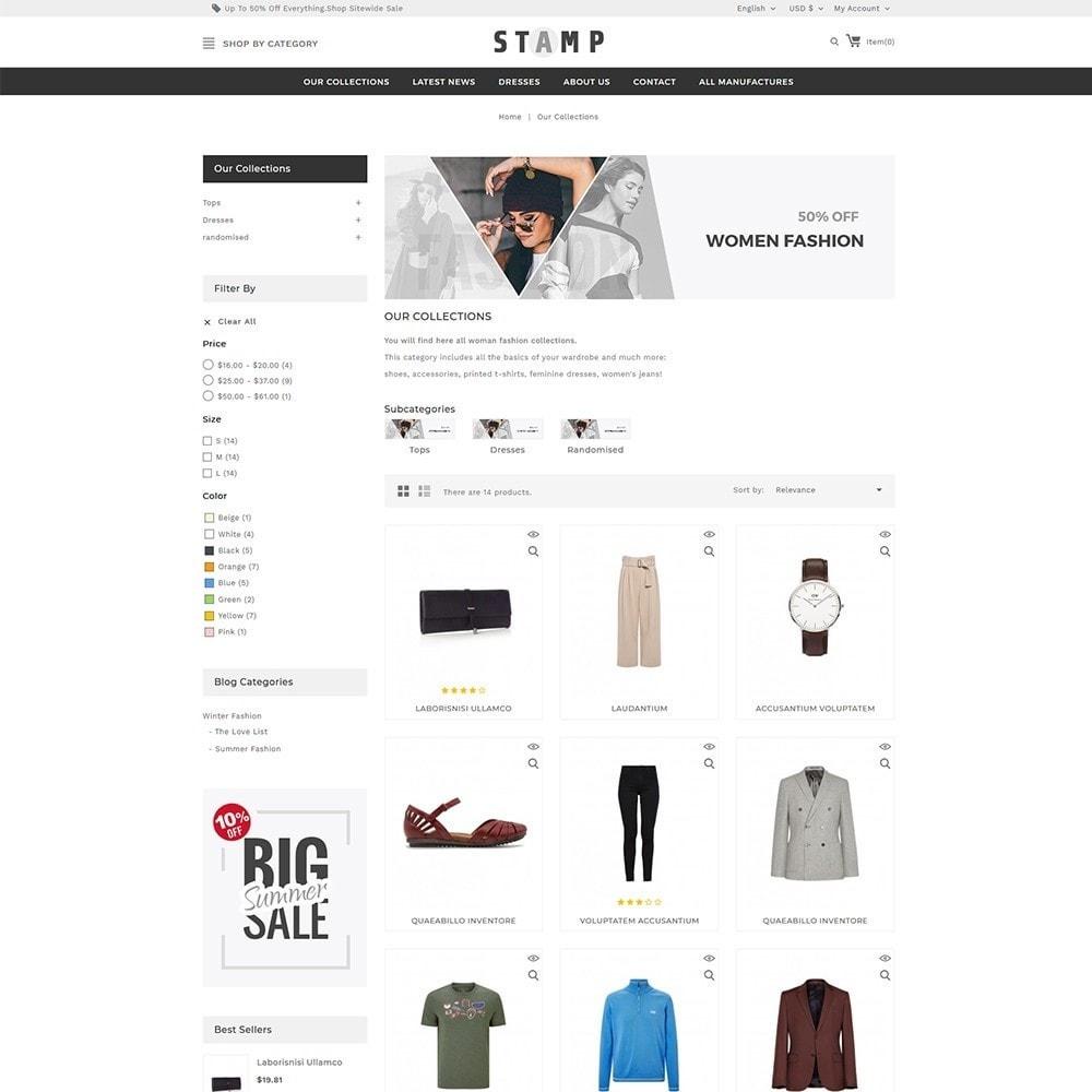 theme - Moda & Calçados - Stamp Fashion Store - 4