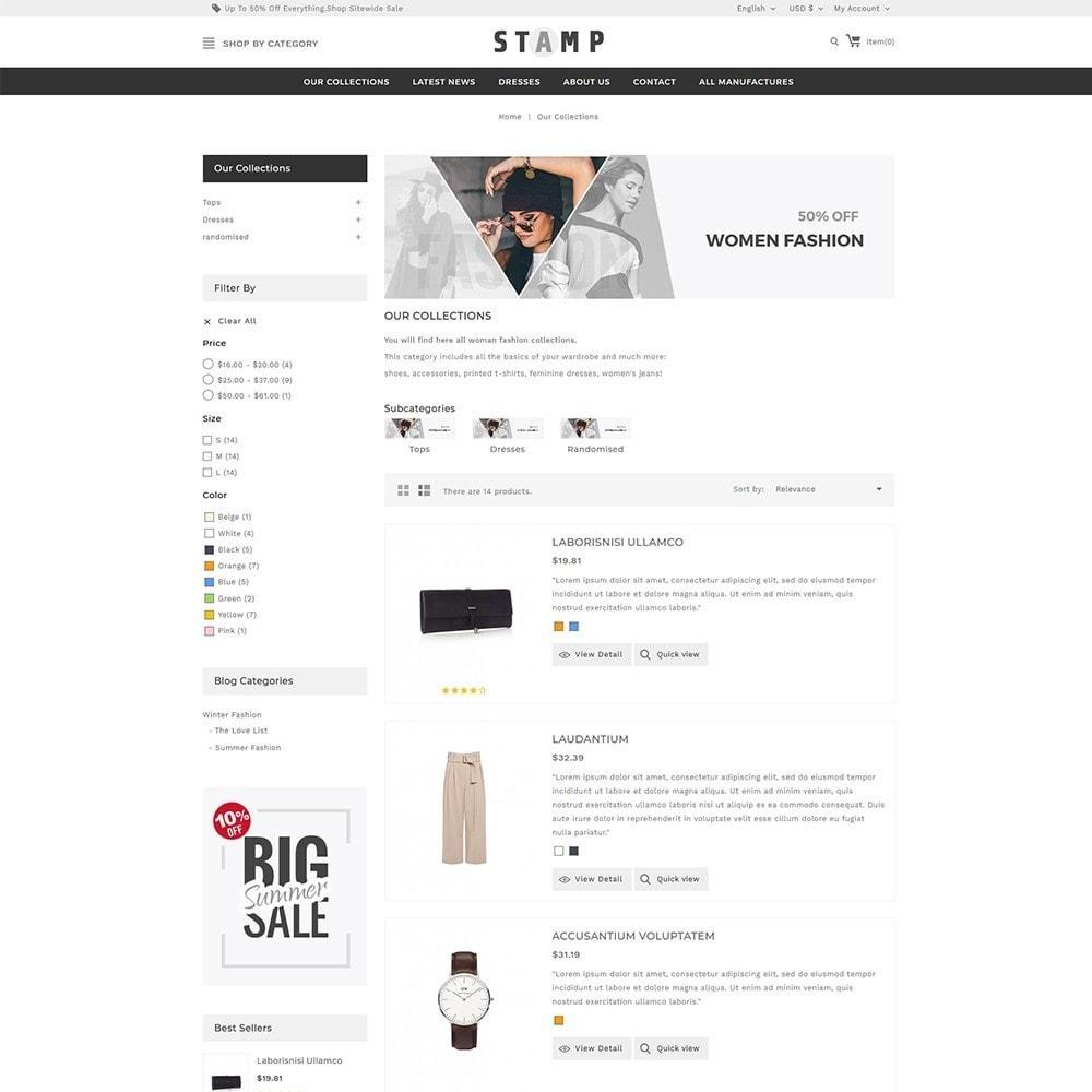 theme - Moda & Calçados - Stamp Fashion Store - 5
