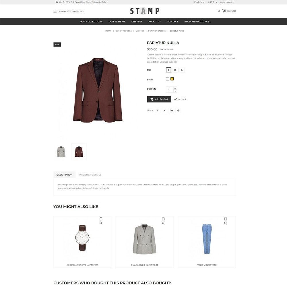 theme - Moda & Calçados - Stamp Fashion Store - 6