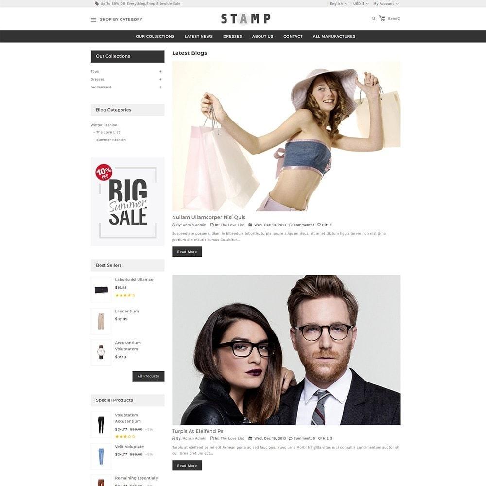 theme - Moda & Calçados - Stamp Fashion Store - 7