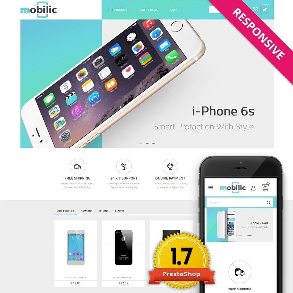theme - Elektronica & High Tech - Mobilic Mobile Shop - 1