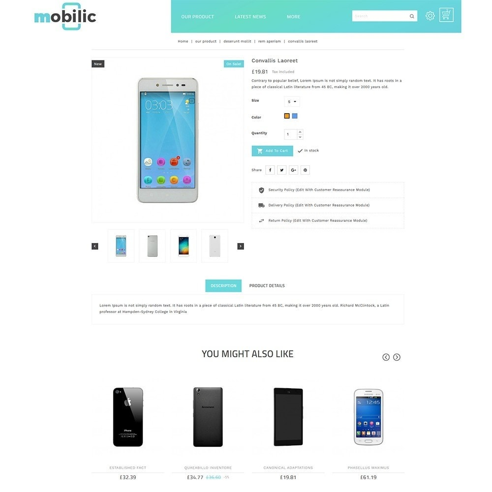 theme - Elektronica & High Tech - Mobilic Mobile Shop - 6