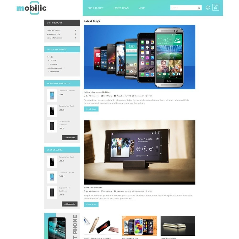 theme - Elektronica & High Tech - Mobilic Mobile Shop - 7