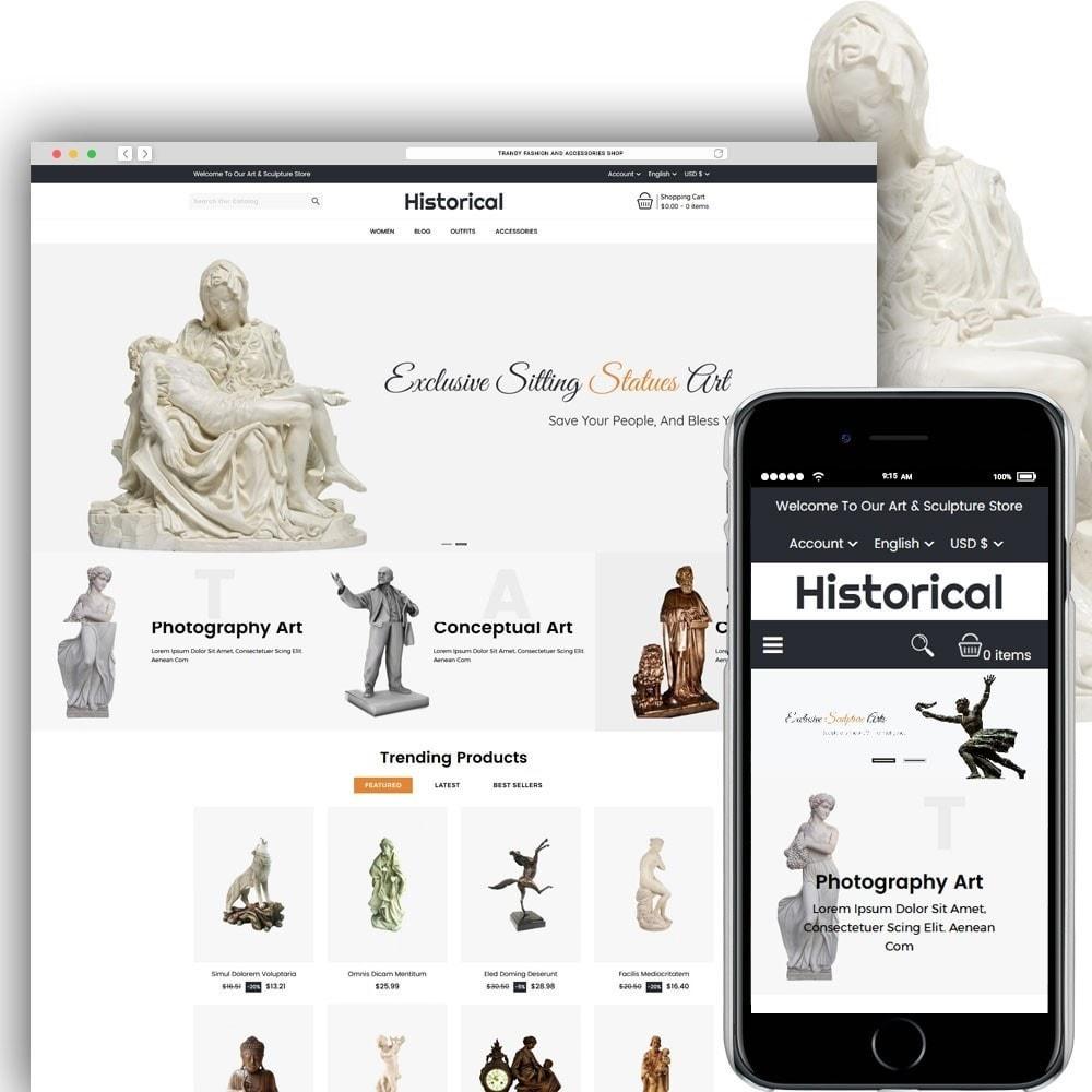 theme - Arte y Cultura - Historical Sculpture Store - 1