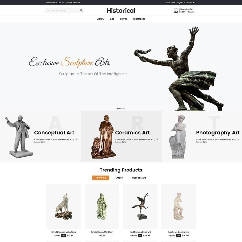 theme - Arte y Cultura - Historical Sculpture Store - 2