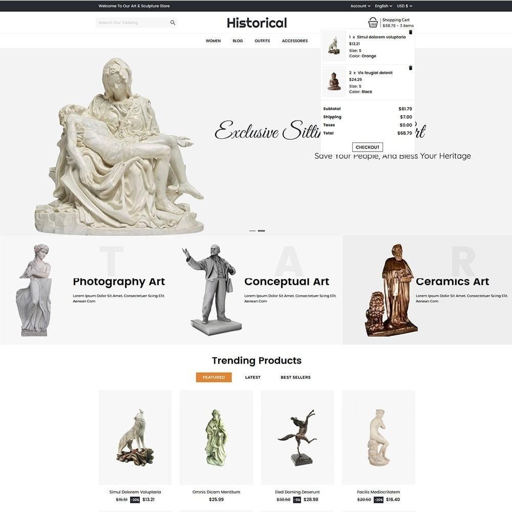 theme - Arte e Cultura - Historical Sculpture Store - 3