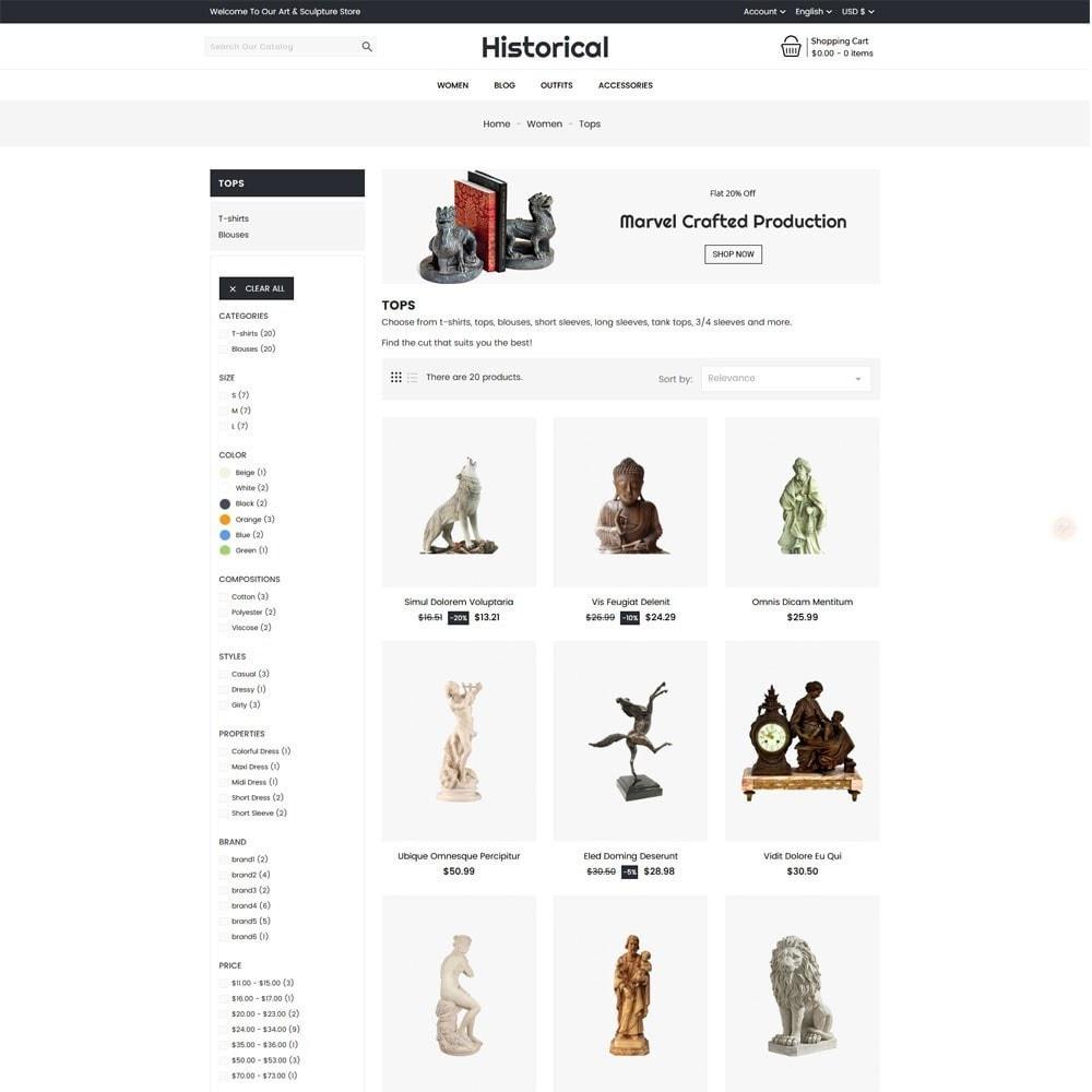 theme - Arte y Cultura - Historical Sculpture Store - 4