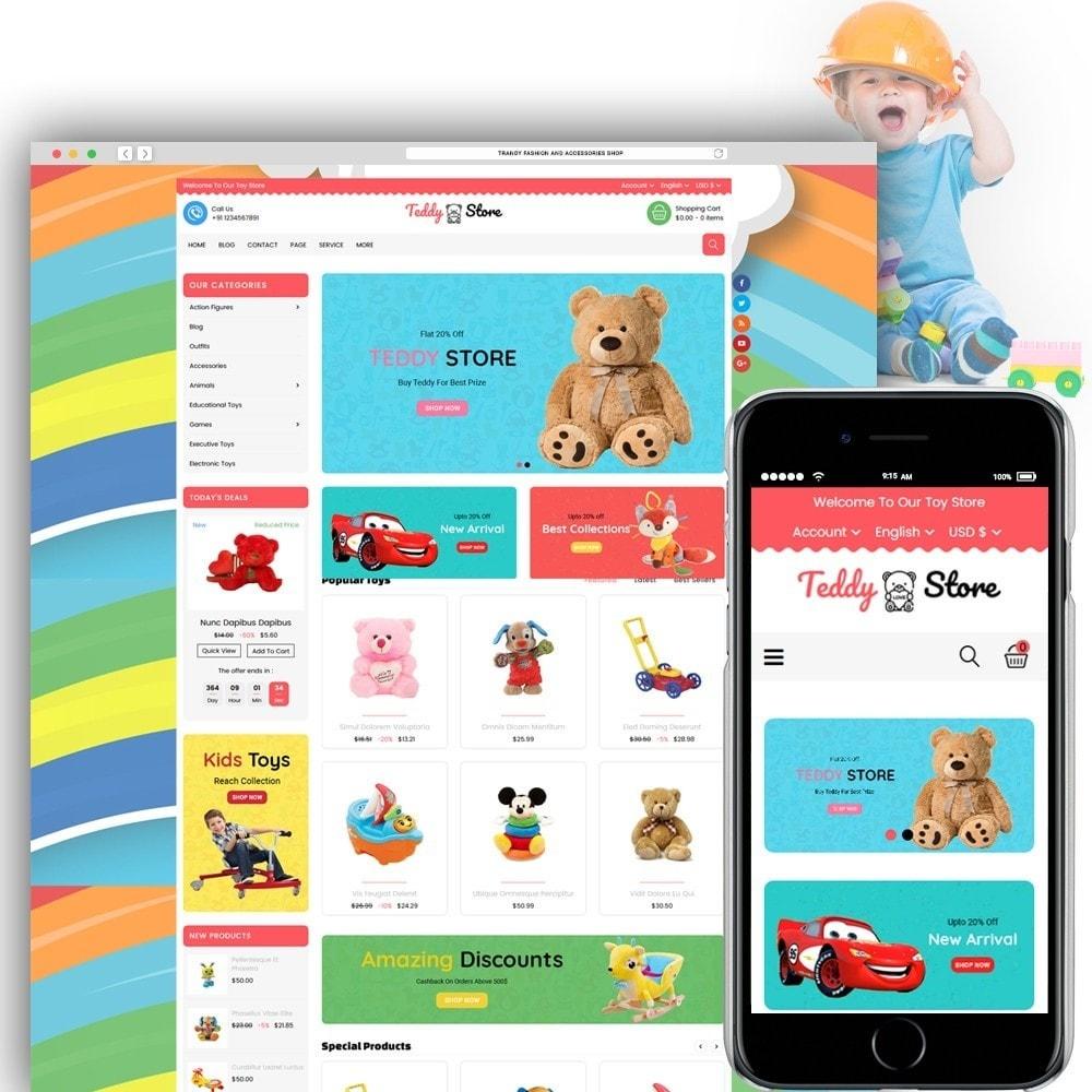 theme - Kinderen & Speelgoed - Teddy Toy Store - 1