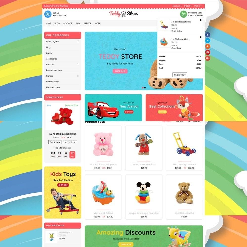 theme - Kinderen & Speelgoed - Teddy Toy Store - 2