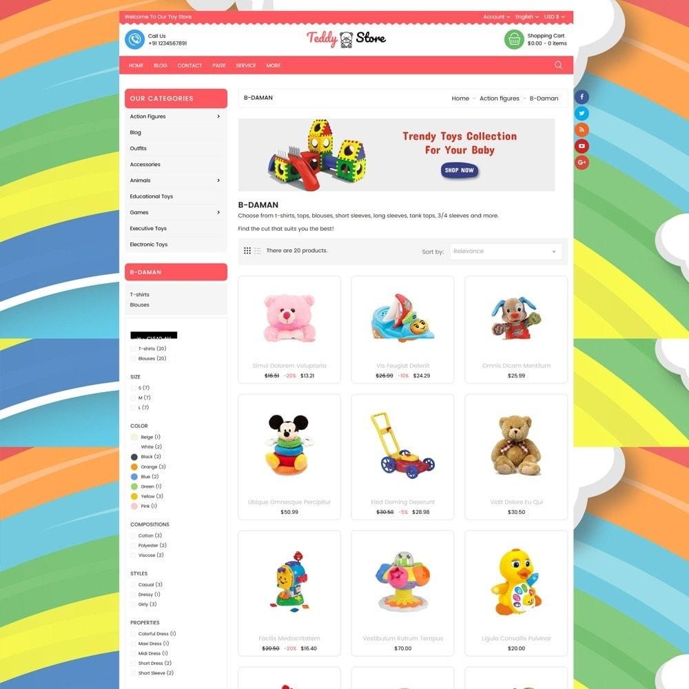 theme - Kinderen & Speelgoed - Teddy Toy Store - 3