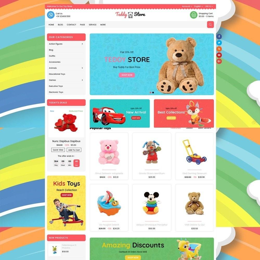 theme - Kinder & Spielzeug - Teddy Toy Store - 5