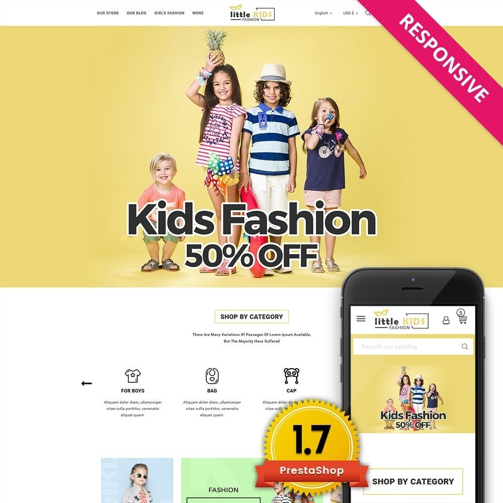 theme - Fashion & Shoes - Littekids Fashion Store - 1