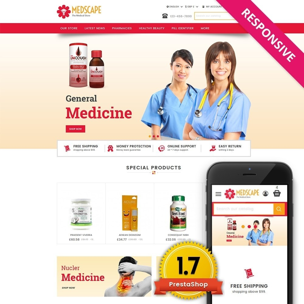theme - Salute & Bellezza - Medscape Medical Store - 1