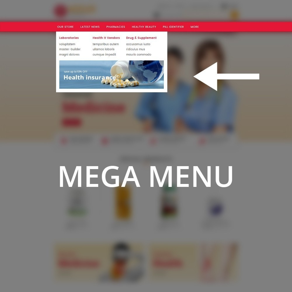 theme - Salute & Bellezza - Medscape Medical Store - 9