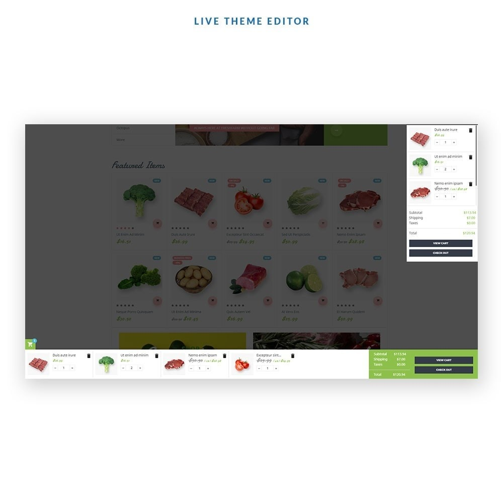 theme - Alimentos & Restaurantes - Leo Fresh Farm - 2