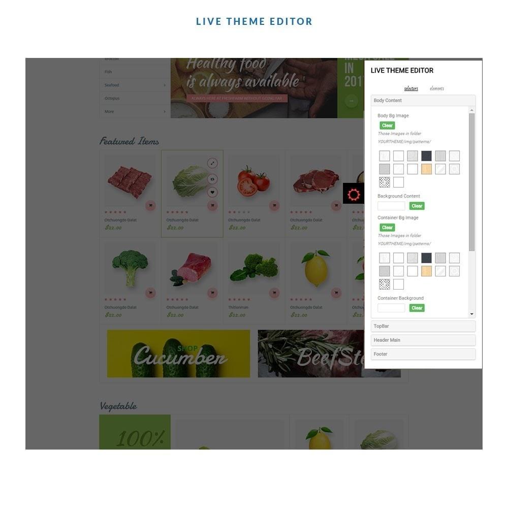 theme - Gastronomía y Restauración - Leo Fresh Farm - 4