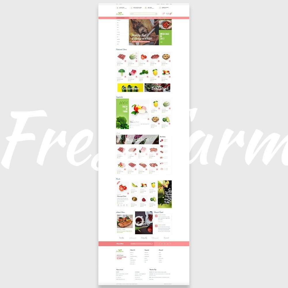 theme - Food & Restaurant - Leo Fresh Farm - 5