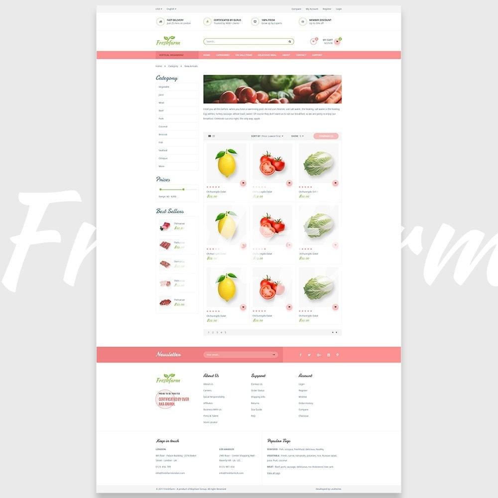 theme - Gastronomía y Restauración - Leo Fresh Farm - 6