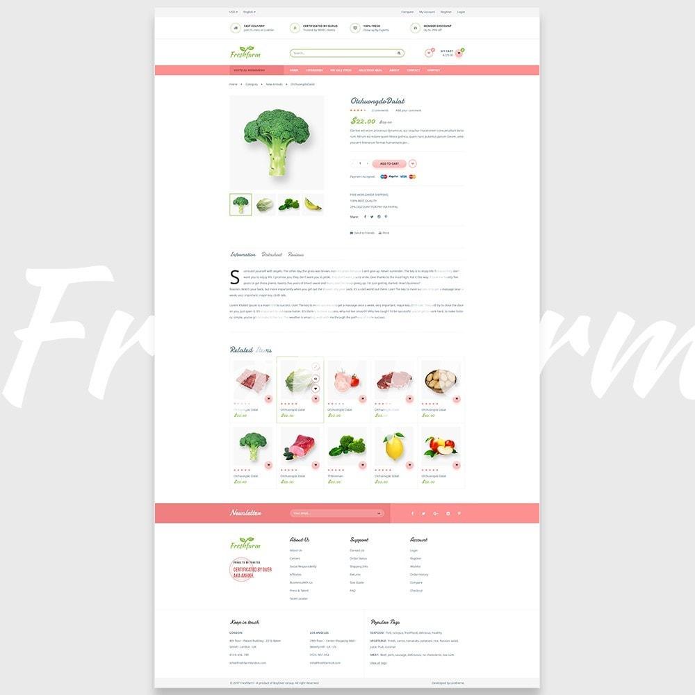 theme - Gastronomía y Restauración - Leo Fresh Farm - 7