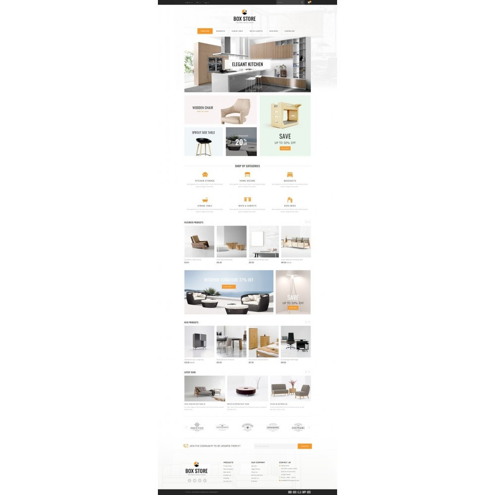 theme - Dom & Ogród - BoxStore - Furniture Store - 2