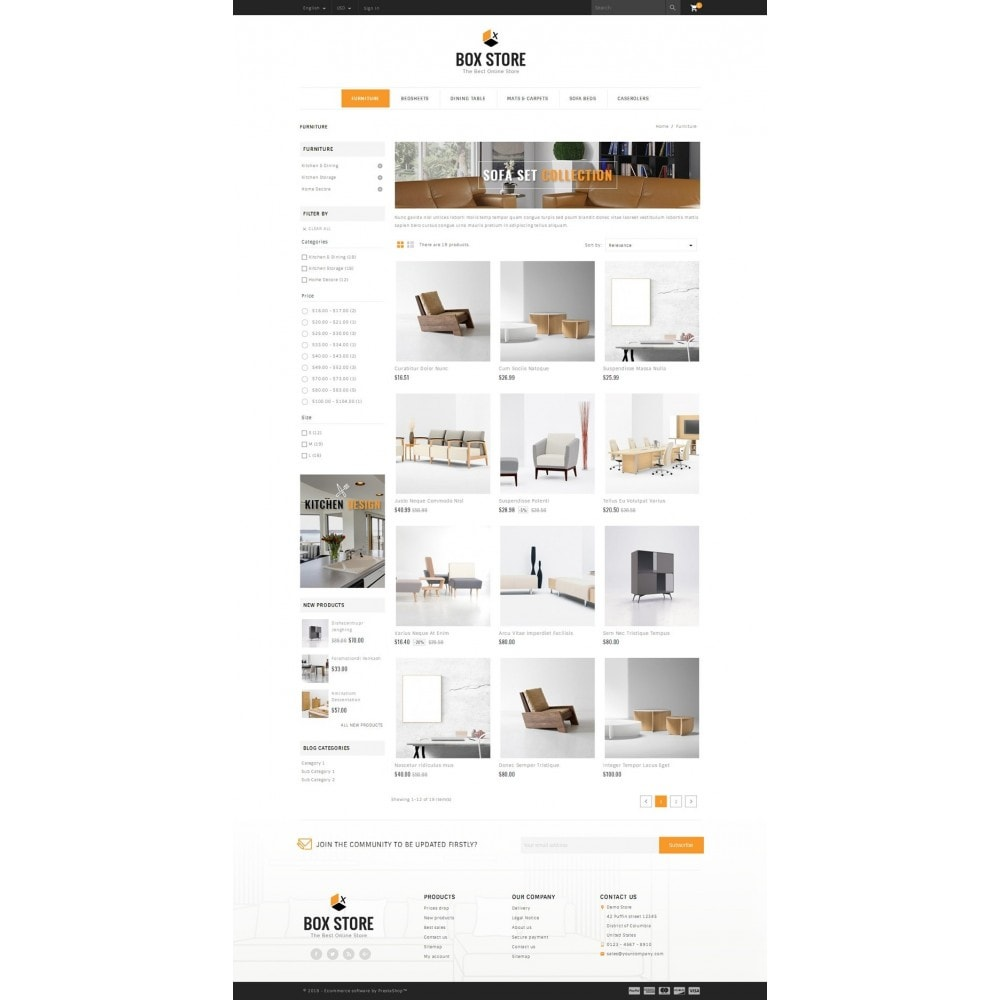 theme - Dom & Ogród - BoxStore - Furniture Store - 3