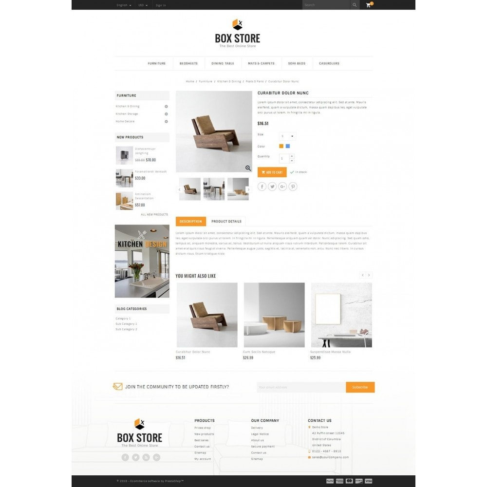 theme - Dom & Ogród - BoxStore - Furniture Store - 4
