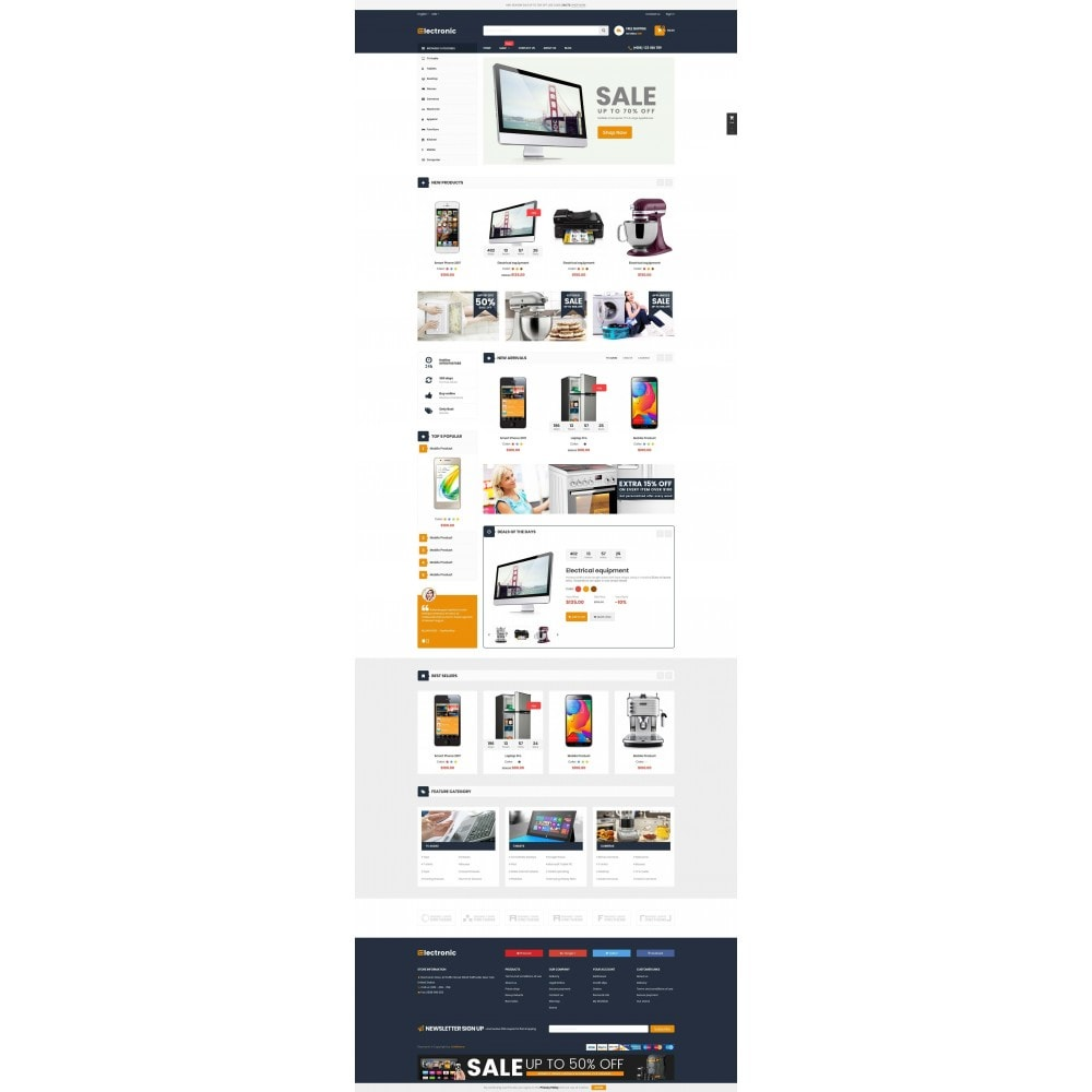theme - Elektronika & High Tech - Supermarket Online Store - 2