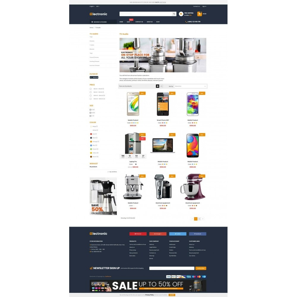 theme - Elektronika & High Tech - Supermarket Online Store - 3